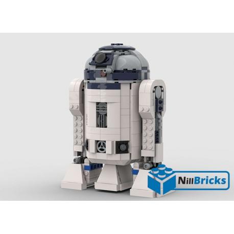 NOTICE DE MONTAGE NILLBRICKS LEGO SW R2D2 DROIDE : NM00186