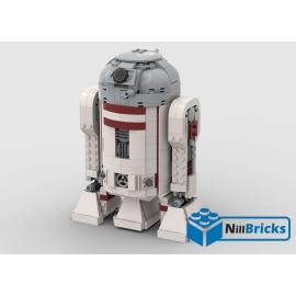 NOTICE DE MONTAGE NILLBRICKS LEGO SW R3T6 DROIDE : NM00187