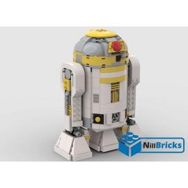 NOTICE DE MONTAGE NILLBRICKS LEGO SW R2C4 DROIDE : NM00188