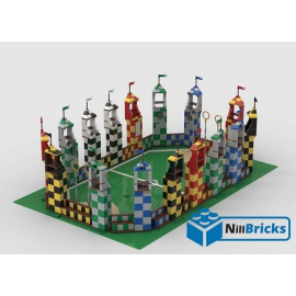 NOTICE DE MONTAGE NILLBRICKS LEGO HP TERRAIN DE QUIDDITCH : NM00194