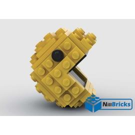 NOTICE DE MONTAGE NILLBRICKS LEGO PACMAN : NM00199
