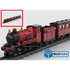 NOTICE DE MONTAGE NILLBRICKS LEGO POUDLARD EXPRESS HP : NM00200