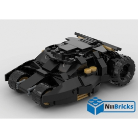 NOTICE DE MONTAGE NILLBRICKS BATMOBILE 3 : NM00205