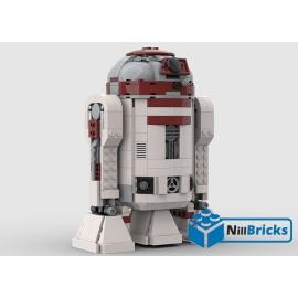 NOTICE DE MONTAGE NILLBRICKS LEGO SW R2M5 DROIDE : NM00207