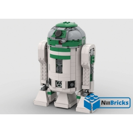 NOTICE DE MONTAGE NILLBRICKS LEGO SW R2A6 DROIDE : NM00208
