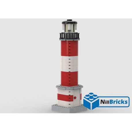 NOTICE DE MONTAGE NILLBRICKS LEGO PHARE COTIER : NM00213