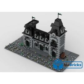 NOTICE DE MONTAGE NILLBRICKS LEGO STATION DE TRAIN HANTE : NM00215