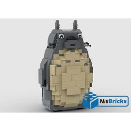 NOTICE DE MONTAGE NILLBRICKS LEGO TOTORO : NM00218