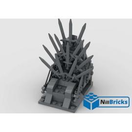 NOTICE DE MONTAGE NILLBRICKS LEGO TRONE DE FER : NM00219