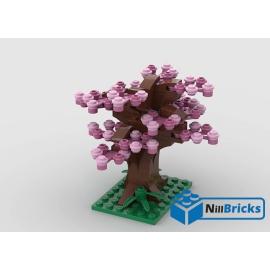 NOTICE DE MONTAGE NILLBRICKS LEGO CERISIER DU JAPON : NM00221