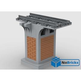 NOTICE DE MONTAGE NILLBRICKS LEGO PILIER POUR PONT 1 : NM00223