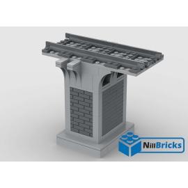 NOTICE DE MONTAGE NILLBRICKS LEGO PILIER POUR PONT 2 : NM00224