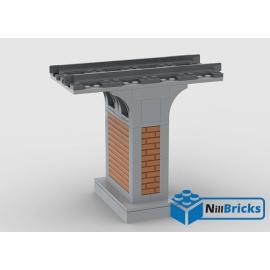 NOTICE DE MONTAGE NILLBRICKS LEGO PILIER POUR PONT 3 : NM00225