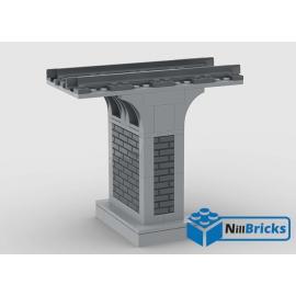 NOTICE DE MONTAGE NILLBRICKS LEGO PILIER POUR PONT 4 : NM00226