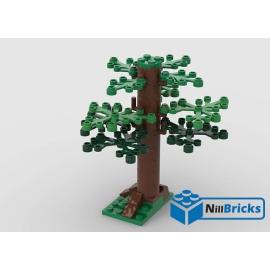 NOTICE DE MONTAGE NILLBRICKS LEGO ARBRE 2 : NM00228