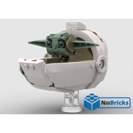 NOTICE DE MONTAGE NILLBRICKS LEGO BABY YODA SW : NM00229