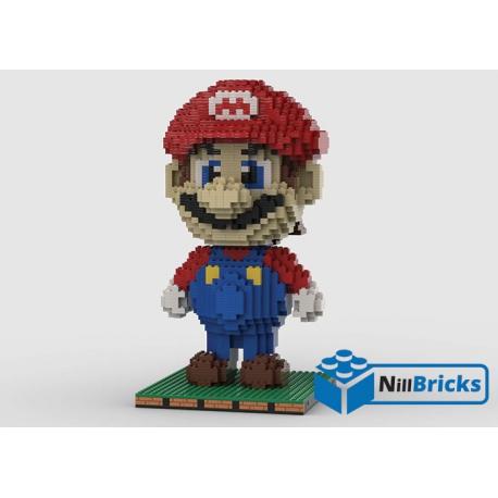 NOTICE DE MONTAGE NILLBRICKS LEGO FIGURINE MARIO 1 : NM00237