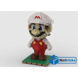 NOTICE DE MONTAGE NILLBRICKS LEGO FIGURINE MARIO 2 : NM00238