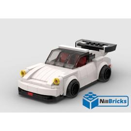 NOTICE DE MONTAGE NILLBRICKS LEGO PORCHE 930 : NM00239