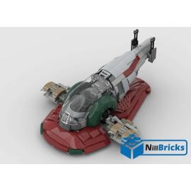 NOTICE DE MONTAGE NILLBRICKS LEGO SLAVE 1 SW : NM00240