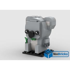NOTICE DE MONTAGE NILLBRICKS LEGO KOALA BRICKHEADZ : NM00241