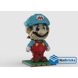 NOTICE DE MONTAGE NILLBRICKS LEGO FIGURINE MARIO 3 : NM00242