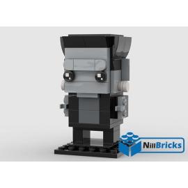 NOTICE DE MONTAGE NILLBRICKS LEGO BRICKHEADZ FRANKENSTEIN : NM00245