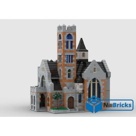 NOTICE DE MONTAGE NILLBRICKS LEGO EGLISE : NM00246