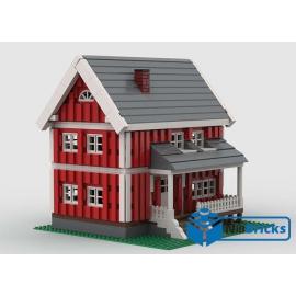 NOTICE DE MONTAGE NILLBRICKS LEGO MAISON DE MONTAGNE : NM00248