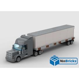 NOTICE DE MONTAGE NILLBRICKS LEGO ENSEMBLE CAMION REMORQUE : NM00249