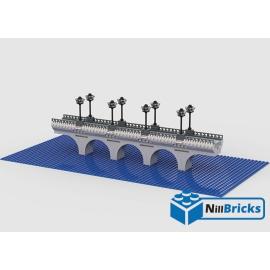 NOTICE DE MONTAGE NILLBRICKS LEGO PONT POUR FIGS : NM00257