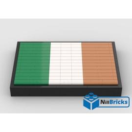 NOTICE DE MONTAGE NILLBRICKS LEGO DRAPEAU DE L'IRLANDE : NM00266