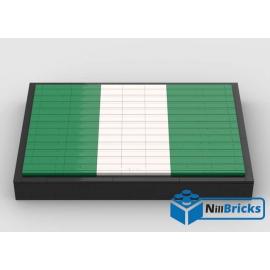 NOTICE DE MONTAGE NILLBRICKS LEGO DRAPEAU DU NIGERIA : NM00269