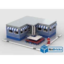 NOTICE DE MONTAGE NILLBRICKS LEGO DINER D'ANGLE : NM00272