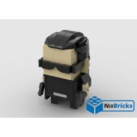 NOTICE DE MONTAGE NILLBRICKS LEGO NEO BRICKHEADZ : NM00273