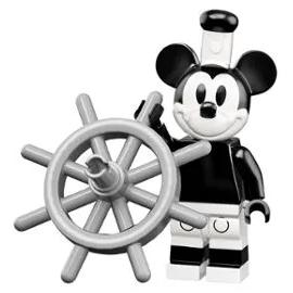 Minifigurine lego  Disney Serie 2  numéro 1 MIcky ref : FIG00033