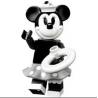 Minifigurine lego  Disney Serie 2  numéro 2 Minie ref : FIG00034