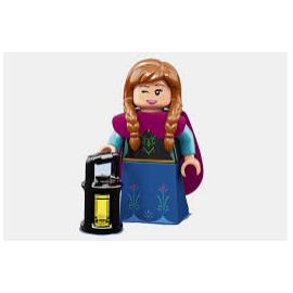 Minifigurine lego  Disney Serie 2  numéro 10 Anna ref : FIG00037