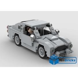 NOTICE DE MONTAGE NILLBRICKS LEGO JAMES BOND DB5 2 : NM00276