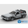 NOTICE DE MONTAGE NILLBRICKS DELOREAN 1 XXL BTTF : NM00278