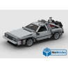NOTICE DE MONTAGE NILLBRICKS DELOREAN 2 XXL BTTF : NM00279