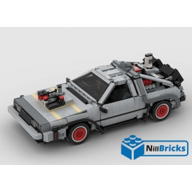 NOTICE DE MONTAGE NILLBRICKS DELOREAN 3 XXL BTTF : NM00280