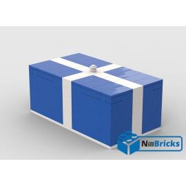 NOTICE DE MONTAGE NILLBRICKS LEGO CADEAU DE NOEL GEANT BLEU : NM00293