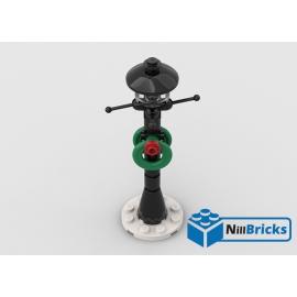 NOTICE DE MONTAGE NILLBRICKS LEGO LAMPADAIRE DE NOEL : NM00299