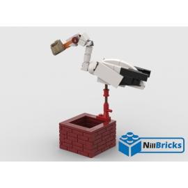NOTICE DE MONTAGE NILLBRICKS LEGO LA CIGOGNE : NM00306