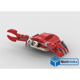 NOTICE DE MONTAGE NILLBRICKS LEGO LE CRABE : NM00308