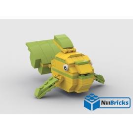 NOTICE DE MONTAGE NILLBRICKS LEGO LE POISSON TROPICAL 1 : NM00309