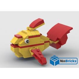 NOTICE DE MONTAGE NILLBRICKS LEGO LE POISSON TROPICAL 2 : NM00310