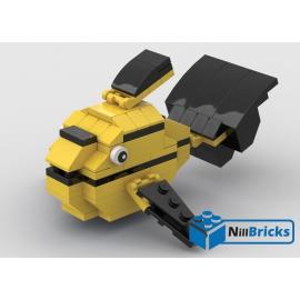NOTICE DE MONTAGE NILLBRICKS LEGO LE POISSON TROPICAL 3 : NM00311