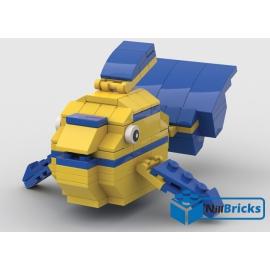 NOTICE DE MONTAGE NILLBRICKS LEGO LE POISSON TROPICAL 5 : NM00313